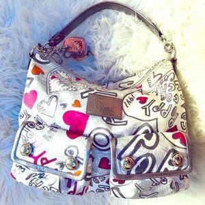 Limited Edition Coach Poppy Shoulder Bag